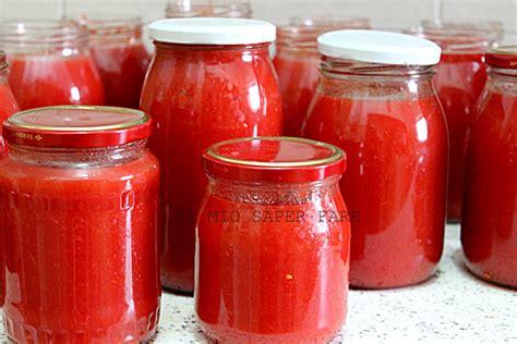 salsa fatta in casa salsa di pomodoro fatta in casa