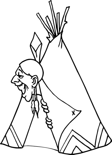 indian coloring pages learn  coloring