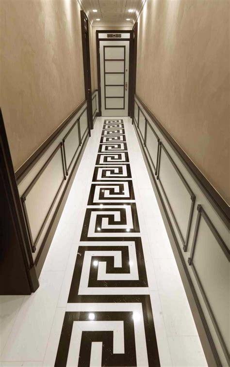 Classy And Elegant Black And White Flooring Design Ideas