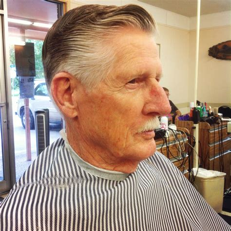 old fashioned man s haircut barber shop in 2019 mature
