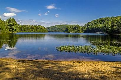 Quebec Nature Mauricie Park National Scenery Canada