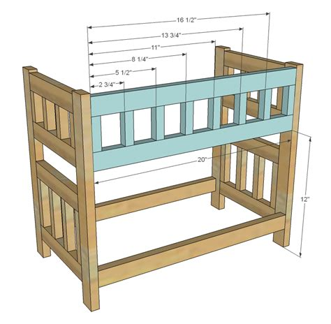 isau wood plans doll bed