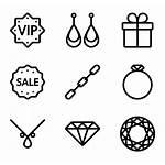 Jewelry Icons Icon Vector Jewel Diamond Svg
