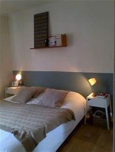 chambres inspiration on pinterest appliques deco and With peindre tete de lit mur