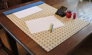 Schreibtischunterlage Selber Machen : diy desktop pad diy schreibtischunterlage diy sachen ~ Watch28wear.com Haus und Dekorationen