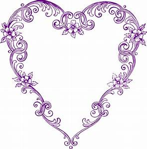 Purple Heart Clipart #112979
