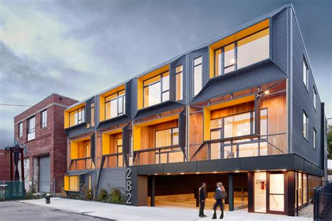 marginal street lofts residential architect merge