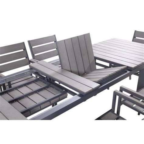 ensemble table et chaise de jardin ensemble table extensible de jardin 200 250 300 cm 8