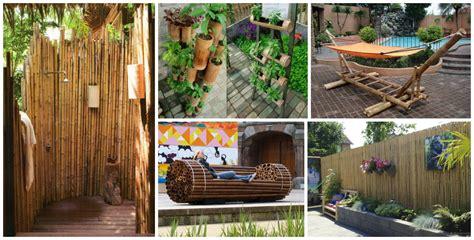 fantastic diy bamboo creatively   garden