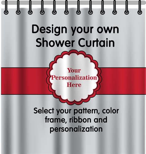 personalized shower curtain personalized shower curtain potty concepts