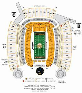Heinz Field Seating Diagram