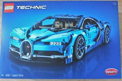 Lego technic 42083 bugatti chiron instructions manual book 1. Lego Technic Bugatti Chiron 42083 complete with Box ...