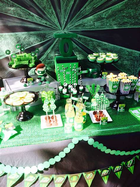 green lantern birthday party ideas photo    catch