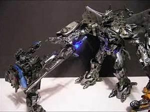 Custom Transformers Bumblebee Jazz Megatron Stop Motion ...