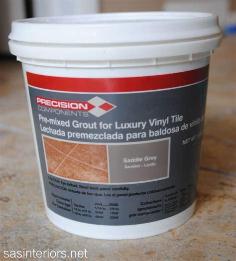 vinyl tile grout lowes diy installing groutable luxury vinyl tile burger