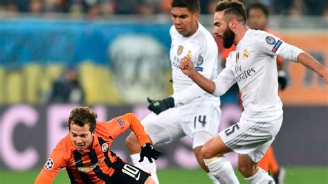 Real Madrid vs Shakhtar: horario y canal de TV para ver la ...