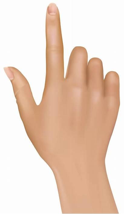 Finger Hand Clipart Clip Hands Tuching Transparent