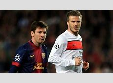 David Beckham Miami MLS Team Wants Lionel Messi