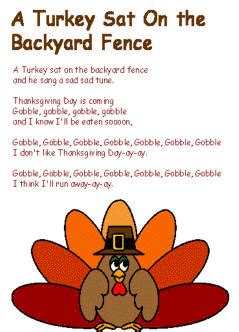 thanksgiving poems and songs 309 | s fence