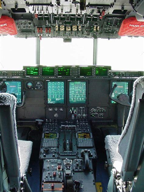 pilots perspective cockpit   globemaster iii