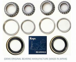 Front  Oem Koyo  Wheel Bearing  U0026 Seal Set For Ford F150 Pickup 2wd 1997