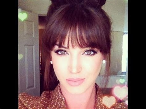 how to style hair without bangs how to style blunt bangs