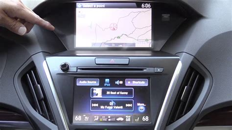 acura acuralink navigation  infotainment system