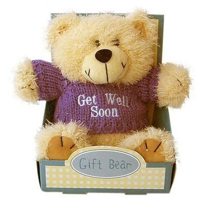 Get Well Bear In The Box :: Get Well :: MyNiceProfile.com