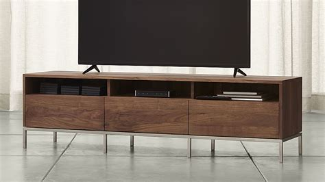pearson 72 quot media console crate and barrel