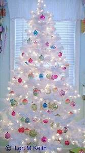 1000 images about White Christmas Tree Decorating Ideas