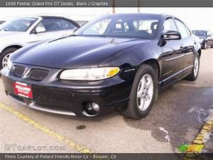 Black - 1998 Pontiac Grand Prix Gt Sedan