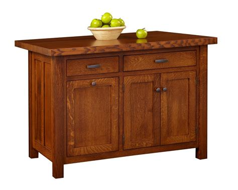 kitchen island drawers amish ancient mission kitchen island with two drawers and three doors