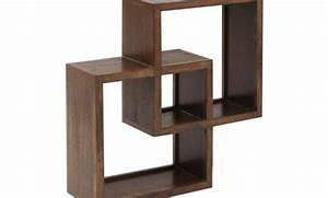 Cube Etagere Bois : etagere murale cube bois 8 id es de d coration int rieure french decor ~ Teatrodelosmanantiales.com Idées de Décoration