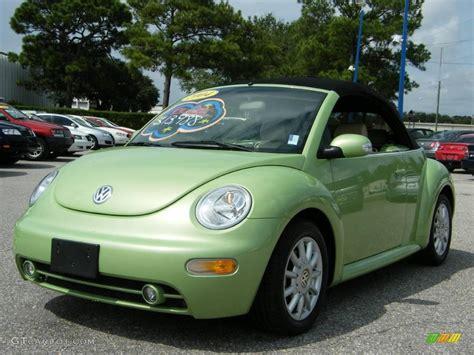 volkswagen green 2004 cyber green metallic volkswagen new beetle gls