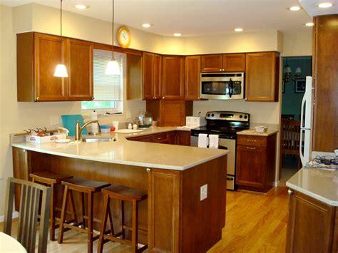 shaped kitchen layout with peninsula kitchen peninsula ideas marceladick L