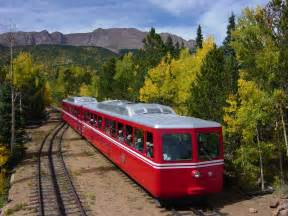 Pikes Peak Cog Railway Colorado Springs