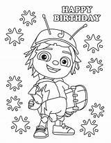 Bugs Beat Coloring Birthday Bug Jay Cartoon Printable Happy Printables Romper Kleurplaat Printablesbaby Stuff Favors sketch template