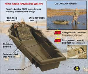 Duck Layout Boat Hunting Blinds
