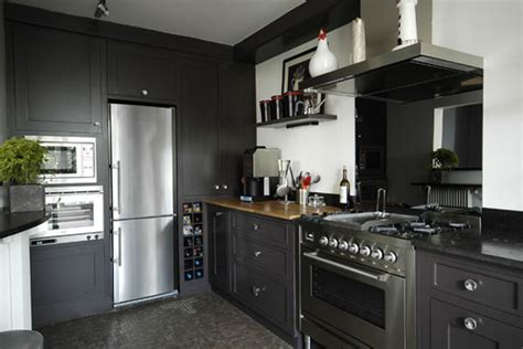 re lumineuse cuisine déco cuisine gris anthracite