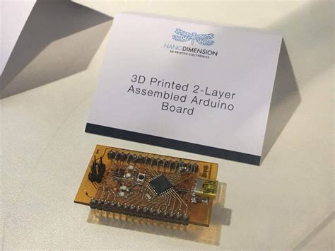 Printed Circuit Boards First Pcb Printers Available