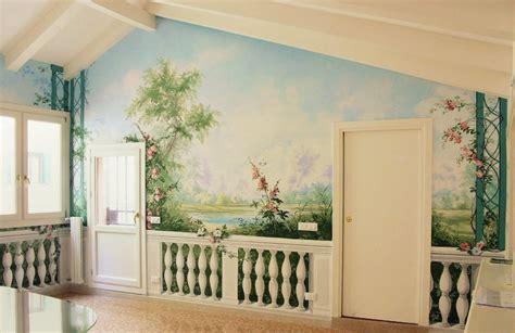 Dipinti Su Muri Interni Una Idea Nuova Per Le Tue Pareti Il Trompe L Oeil