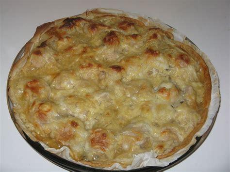 cuisiner des calamars tarte au boudin blanc et chignons des bois ma