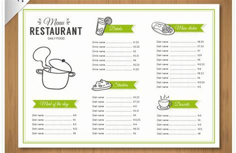 speisekarte zum ausdrucken kalender