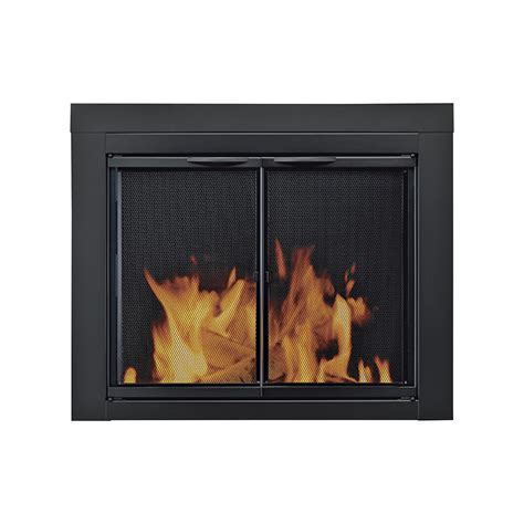 fireplace with glass doors alpine fireplace glass door for masonry fireplaces