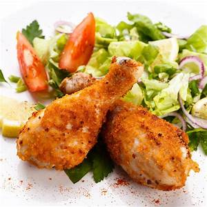 Breaded & Baked Chicken Drumsticks Recipe | Just A Pinch ...