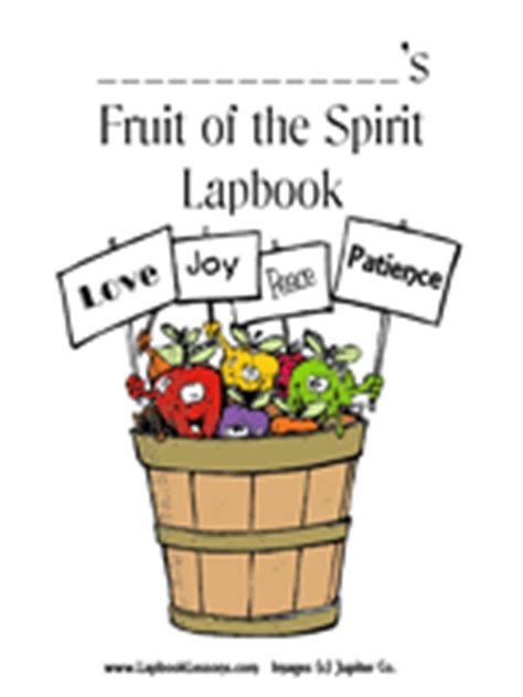 fruit   spirit devotional printables lapbook