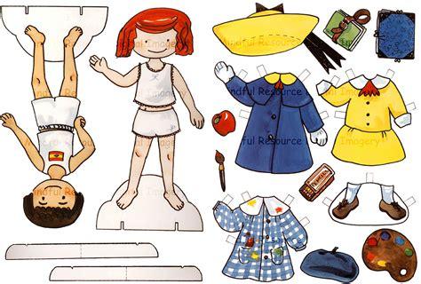 Madeline Paper Doll Vintage Printable Sweet Parisian Girl