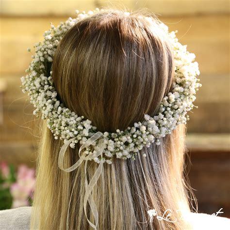 Gypsophila Flower Crown | Le Bouquet St-Laurent Florist