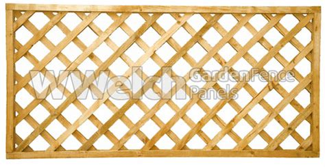 diamond garden trellis fencing