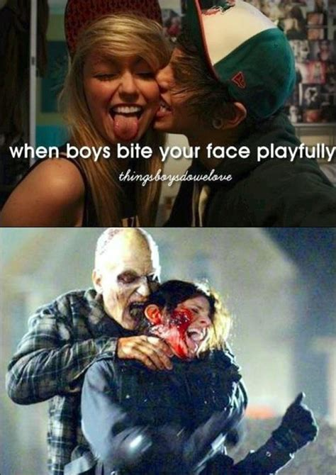 Things Boys Do We Love Meme - bite your face playfully kill the hydra